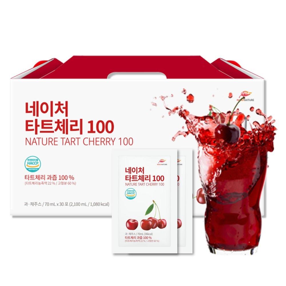 나나네이처 타트체리 쥬스 100, 70ml, 30개