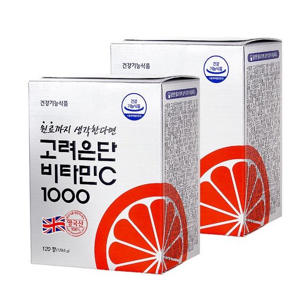 고려은단 비타민C 1000, 2개, 129.6g