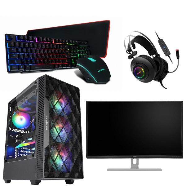 초이스컴 게이밍 조립컴퓨터 올인원 풀세트 모니터포함 고사양PC, 기본형, 풀세트 1번-9100F+GTX1050Ti+8G