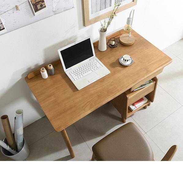 삼익가구 보스코 1200 디자인 원목 책상, 내츄럴오크