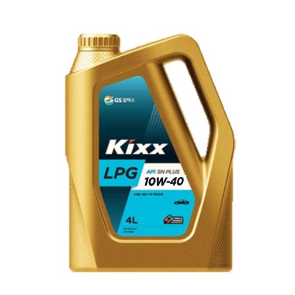 킥스 LPG 10W40 4L 엔진오일, KIXX LPG 10W40 4L