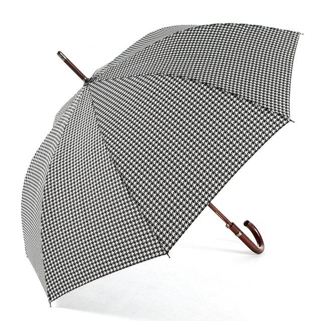 토스 totes 자동 장우산 하운드체크 275P47 우양산 우산