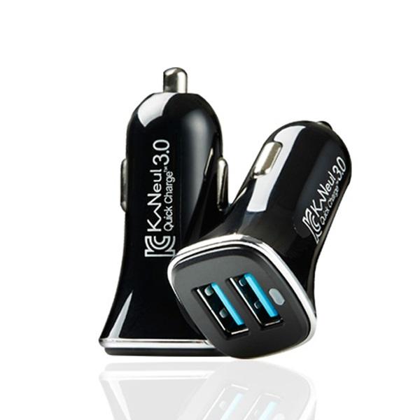 카늘 듀얼 퀵차지 3.0 차량용 고속 충전기