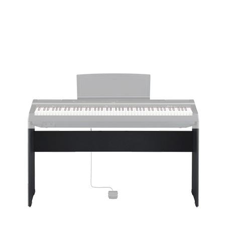 야마하 P-125 전용 추가옵션 구매하기(피아노별도구매), 정품스탠드 L125 블랙