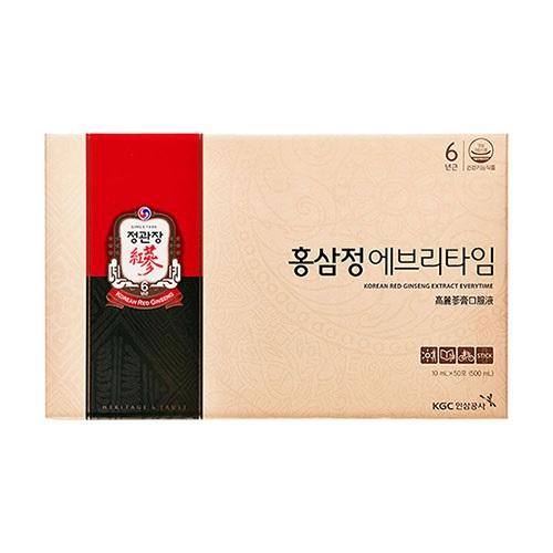 정관장 홍삼정 에브리타임 10ml*50포, 50포, 10ml