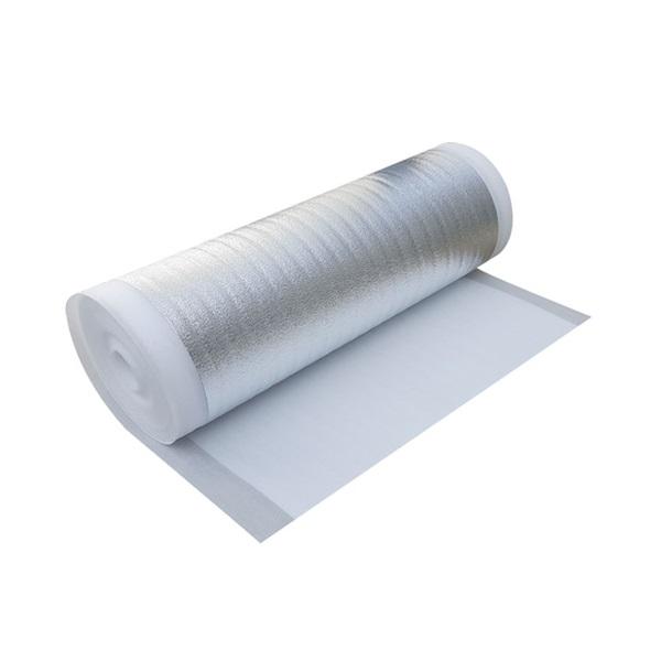 하이홈테크 두께 3mm 은박매트 (폭1mX길이10m) 야외용돗자리 보온재 단열재, 은색