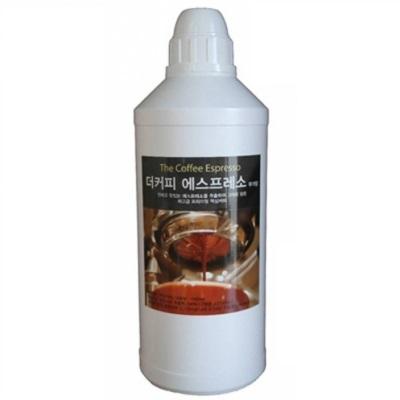 코비스 진하고 맛있는 대용량 에스프레소 원액 액상커피 1L 간편한 아메리카노, 1000ml, 1개-26-168552159