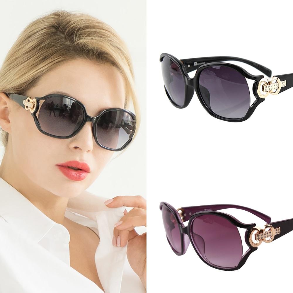 니콜 [1+1] 정품 NC2124 블랙+바이올렛 선글라스