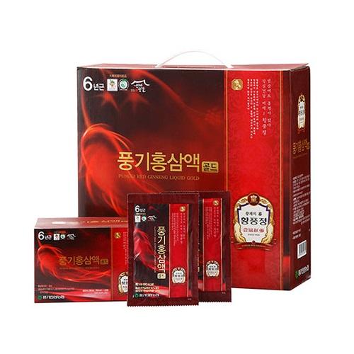 (풍기인삼농협) 황풍정 풍기홍삼액골드 (80mlx60포), 60포, 80ml