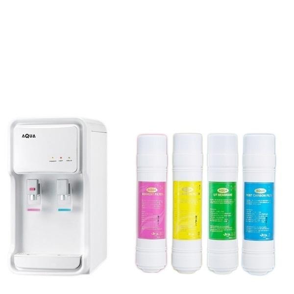 아쿠아글로리 가정용정수기GP-500(흰색) 냉온정수기[일시불 구매제품] 정수기, 아쿠아글로리정수기GP-500S/흰색 가정용냉온정수기