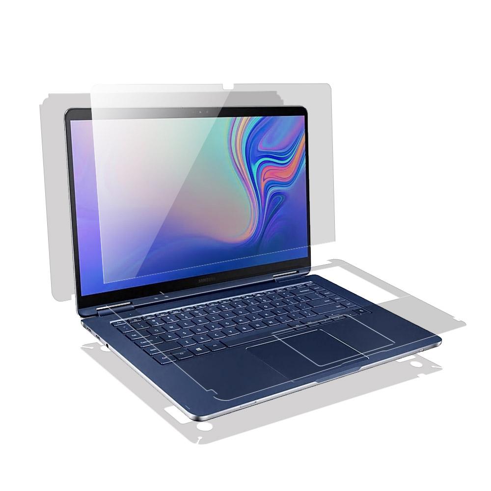 알럽스킨 삼성 노트북 펜 Pen S 15 고광택강화 액정+외부 보호필름 2매 NT950SBE NT950SBV NT951SBE 노트북용, 1개