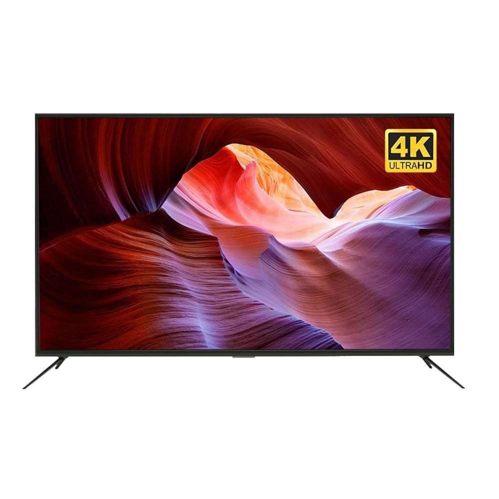 (특가) 해커 UHD LED TV 65인치 대기업 정품 패널 무료 배송, DH6500 65인치 TV