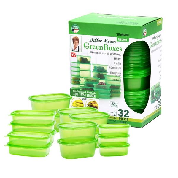 데비마이어 그린박스 16종(32p) 밀폐용기 반찬통 보관용기 밀폐용기/세트, 단품
