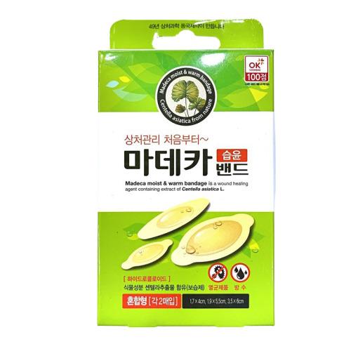 마데카 습윤밴드 혼합6매, 혼합형6매입 (POP 240708670)
