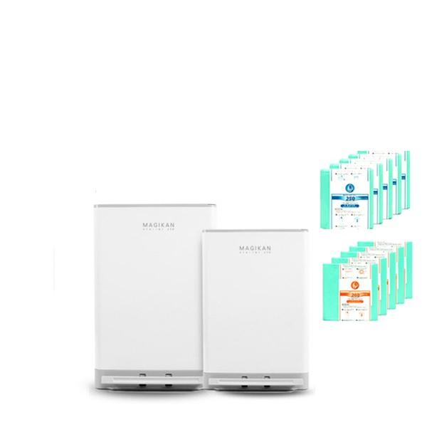 매직캔 신제품 매직캔스텔라 휴지통_21리터+매직롤5개, 스텔라화이트, 999개