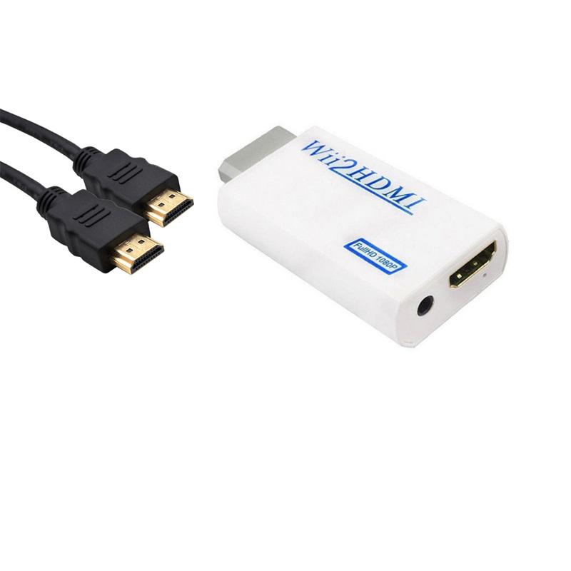 파트스캐너 WII2HDMI 컨버터 위컨버터, Wii2HDMI 컨버터+HDMI 1.5M케이블