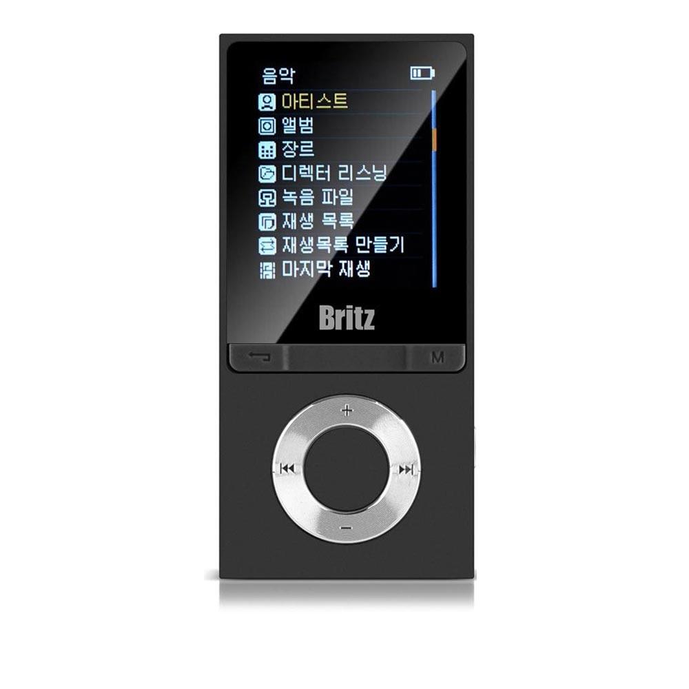브리츠 BZ-MP4580BL 프리미엄 MP3 MP4 플레이어 8G 메모리내장