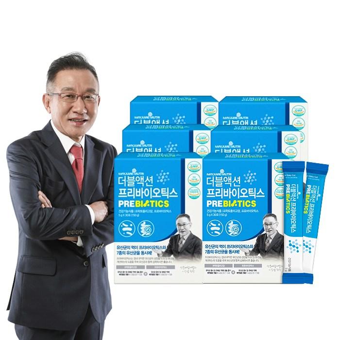 [K쇼핑]이승남 원장의 메이준 더블액션 프리바이오틱스 6박스 (6개월)