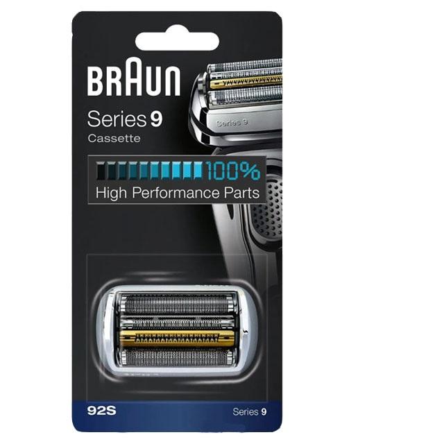 브라운 면도기 시리즈9 날망 92S 실버 92B 블랙