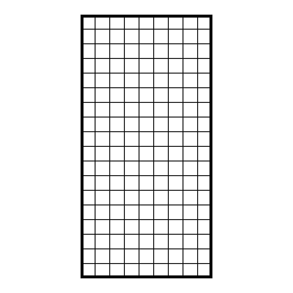 JNCP 휀스망 45x90cm 메쉬망 네트망 철망 악세사리진열대 방묘 후크, 1개