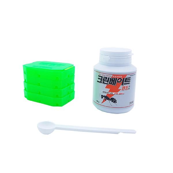 전원주택개미약 화단 옥상 개미퇴치약 과립형 개미약 크린베이트100, 1개