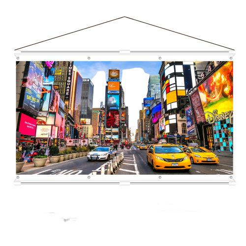 제일피엘엠 빔프로젝터 스크린 60인치 80인치 100인치 120인치 벽걸이형 휴대용스크린, 60인치 벽걸이형 휴대용 프로젝터스크린