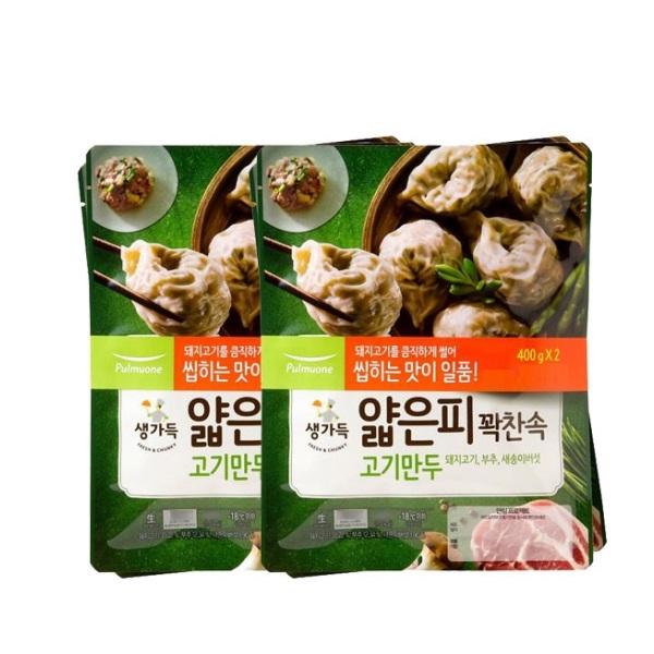 [K쇼핑]풀무원얇은피만두 고기(440gx4봉), 단일상품
