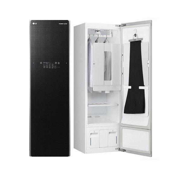 [LG전자] TROMM 스타일러 S5BB 플러스(5벌+바지1벌/린넨 블랙), 상세 설명 참조