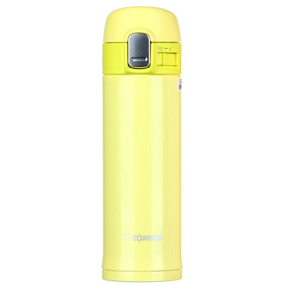 조지루시 슬림 원터치 보온보냉 물병 SM-PB30, 옐로우그린, 300ml