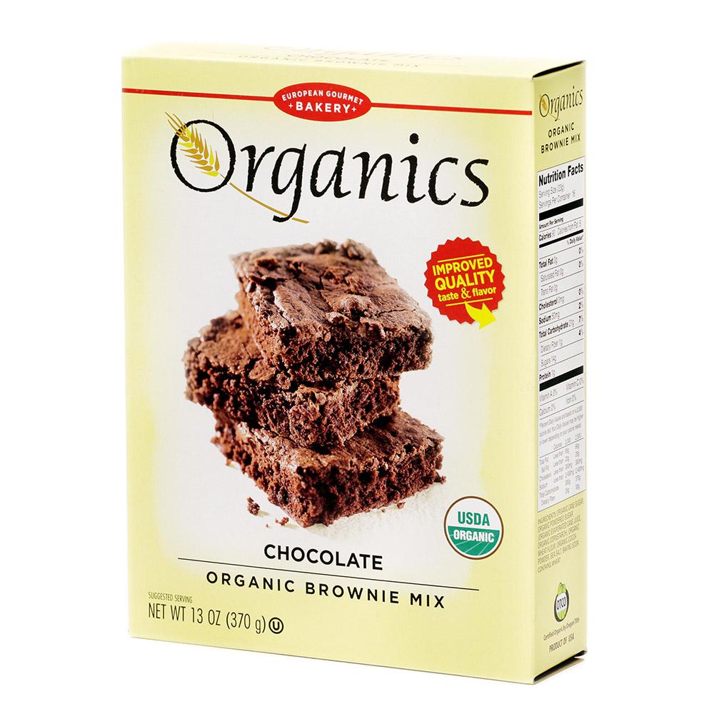 유러피안구어메이베이커리 브라우니 믹스 초콜릿, 370g, 1개