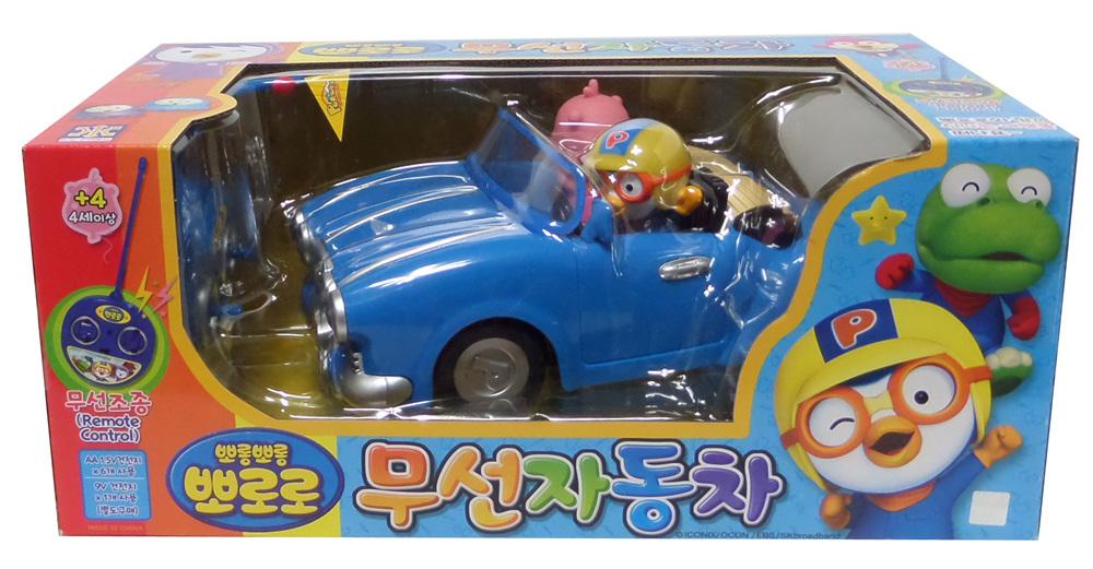 뽀로로 무선 자동차 완구, 블루