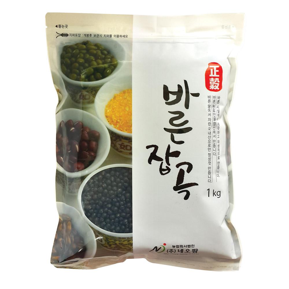 [네오팜] 바른잡곡 약콩 1kg, 1개