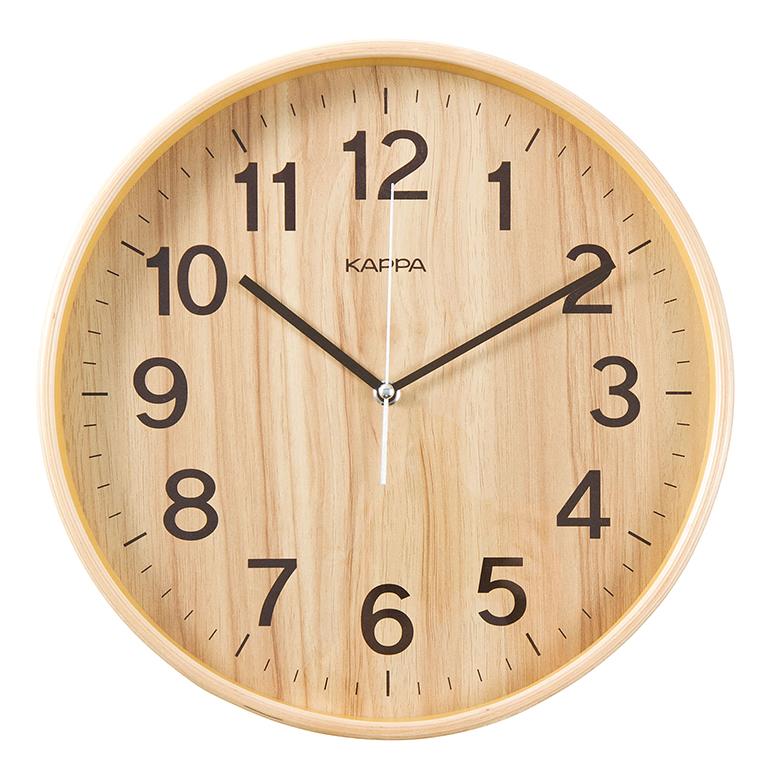 [텐바이텐] 카파 W683 무소음 자작나무 원목벽시계 2종 택1, [W683내츄럴]