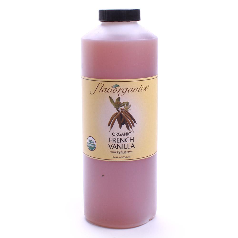 플레이볼가닉스 시럽, 710ml, 프렌치 바닐라(French Vanilla)