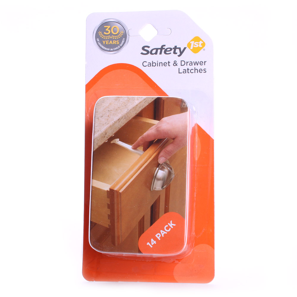 Safety 1st 와이드 그립 래치 14 개