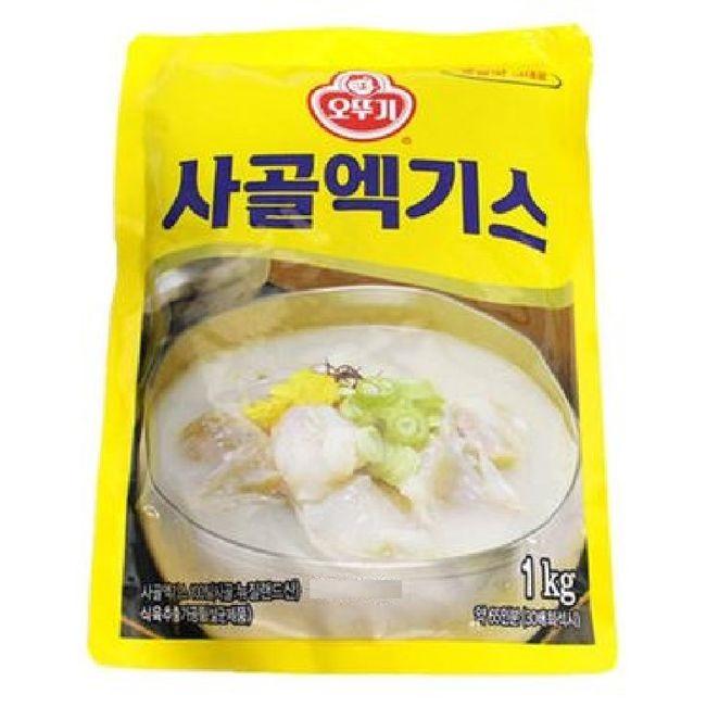 [오뚜기] 사골엑기스, 1kg, 1개