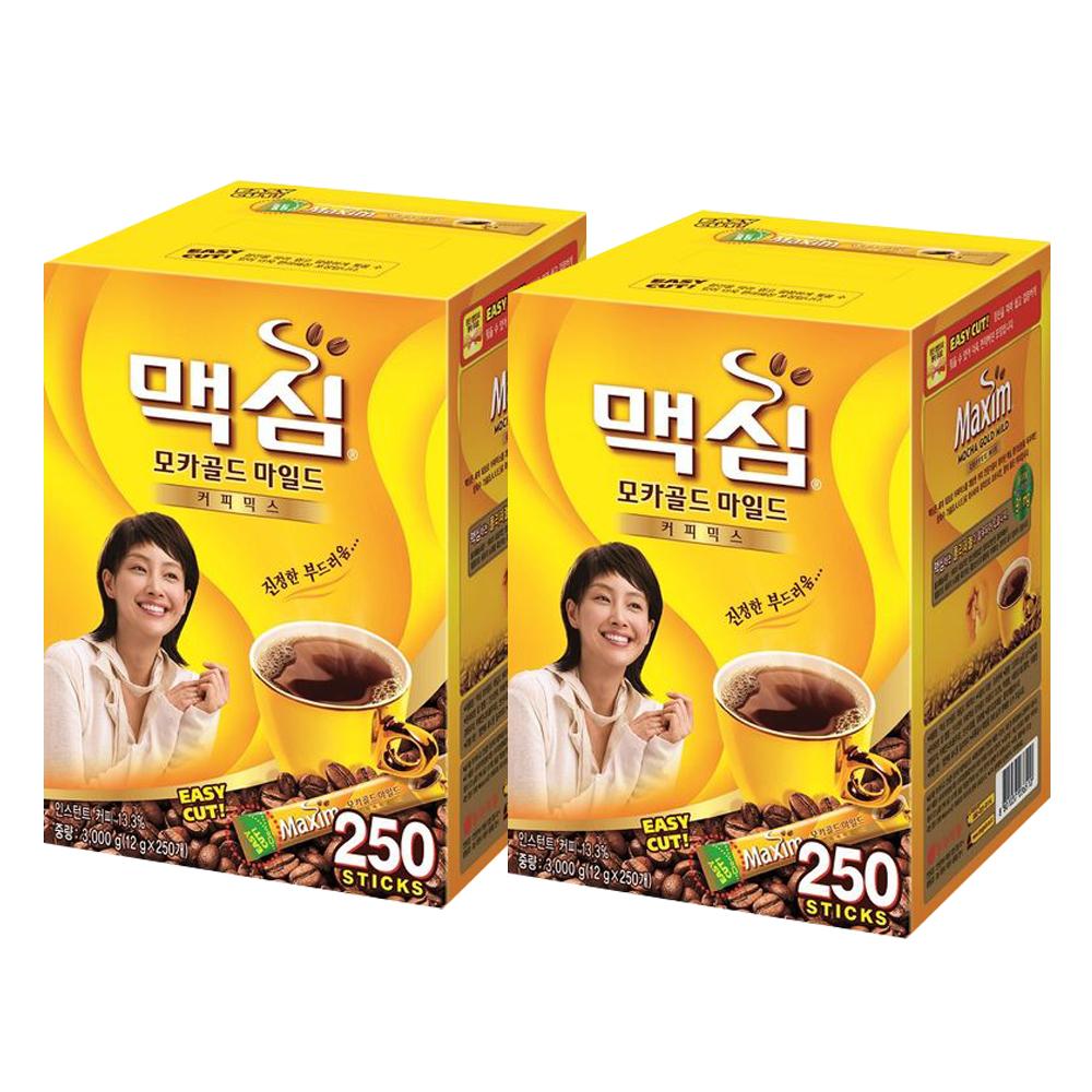 맥심 모카골드 마일드 커피믹스, 11.8g, 500개
