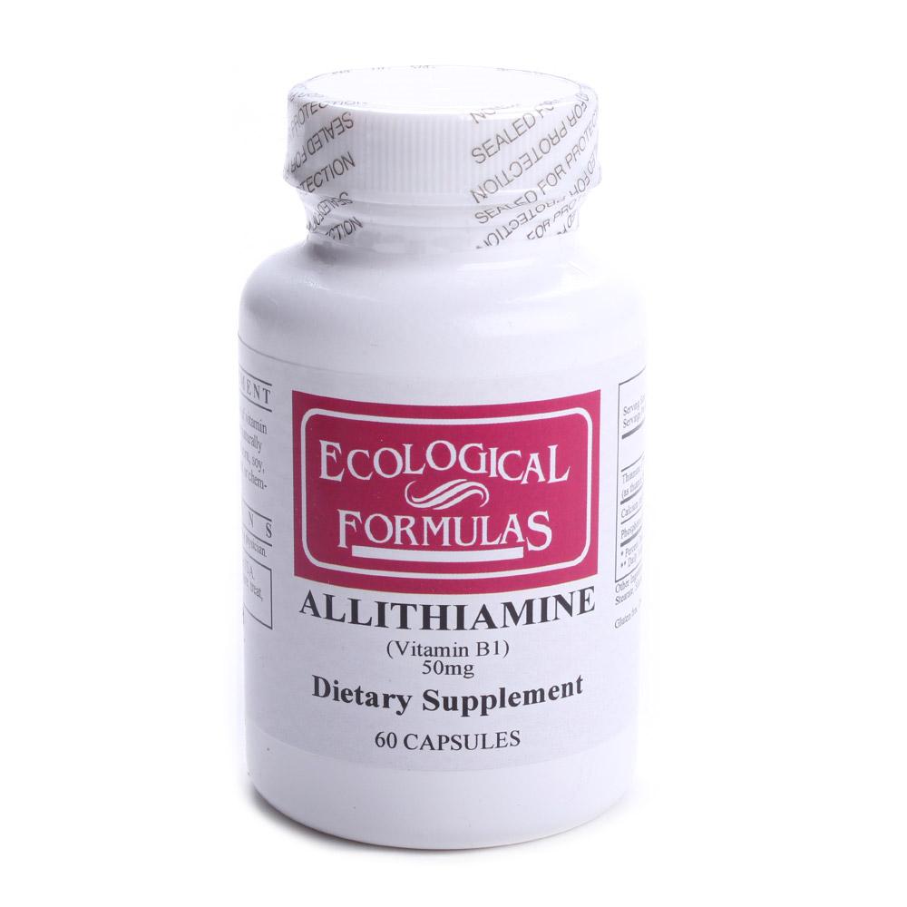 이콜로지컬포뮬라스 알리티아민 50mg 캡슐, 60개입, 1개