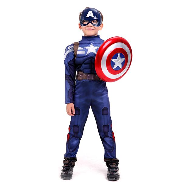 캡틴아메리카 코스튬 S