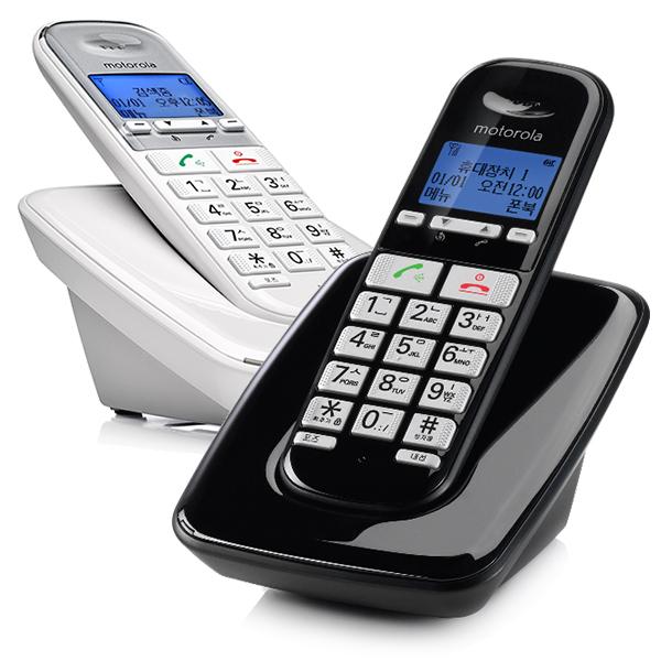 모토로라 무선 전화기 S3001A, S3001A(화이트)