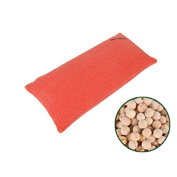 [친환경편백아트] 편백베개 클래식 구슬칩 소, 빨강