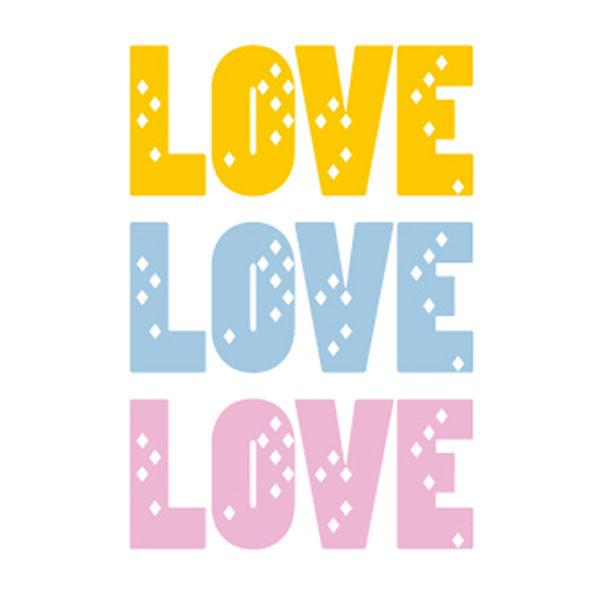 (LU-M89) love love love, 1개