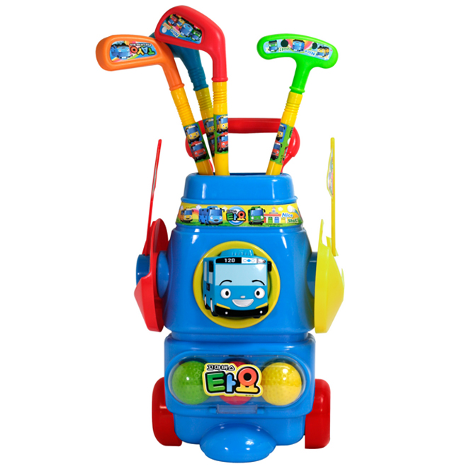 바니랜드 타요 골프놀이 어린이 타요장난감 골프공 쌓기 게임, 바니_타요 골프