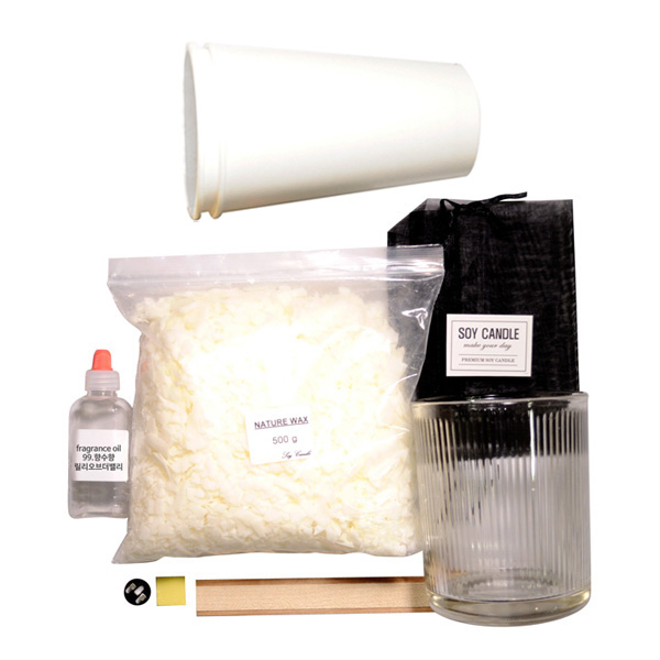 캔들KIT-컨테이너캔들-향수향, 700ml, 릴리오브더밸리