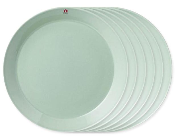 이딸라세트 Teema plate 21cm celadon green, 6개