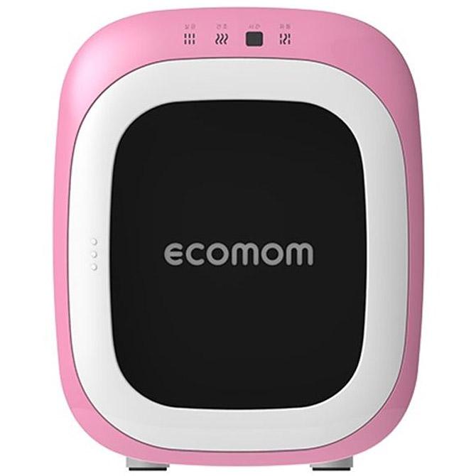 에코맘 음이온 젖병소독기, 핑크, ECO-22