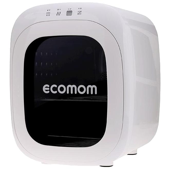 에코맘 젖병 소독기 ECO-33, 화이트