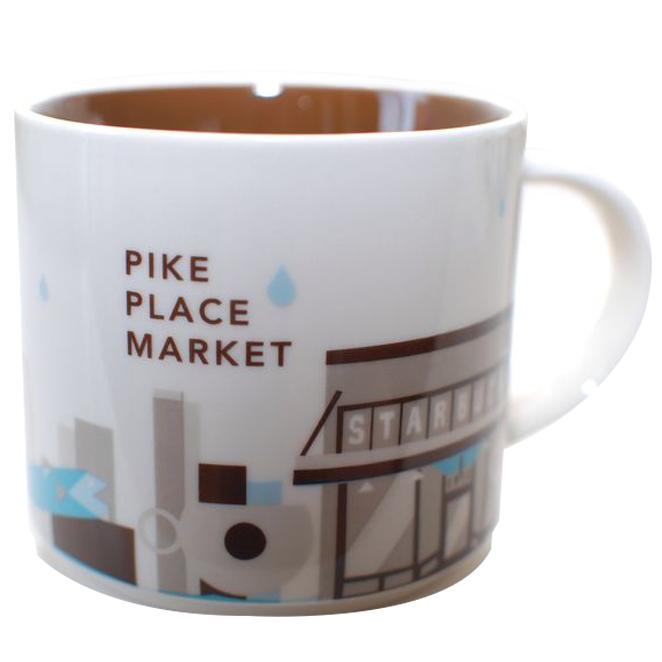 스타벅스 Pike Place You are Here Mug 355ml, 혼합색상, 1개