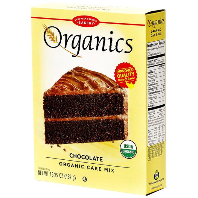 유러피안구어메이베이커리 케이크 믹스 초콜릿, 432g, 1개