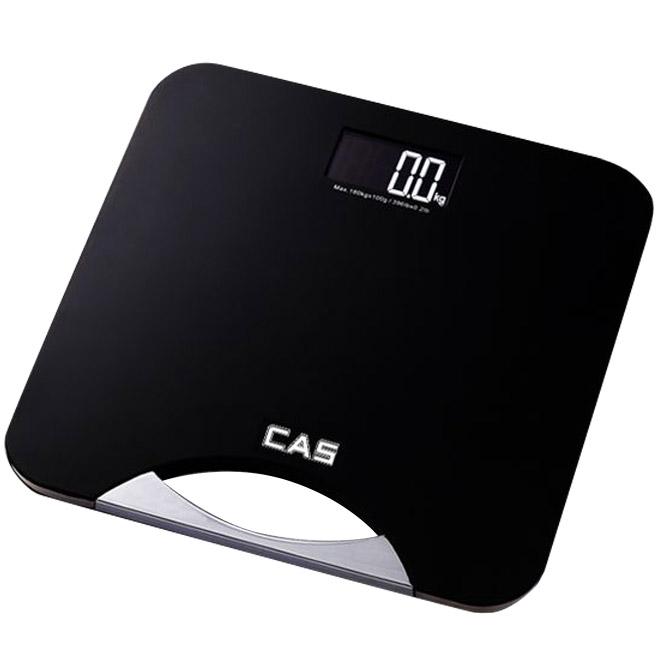 카스 디지털 체중계, HE-23, 블랙